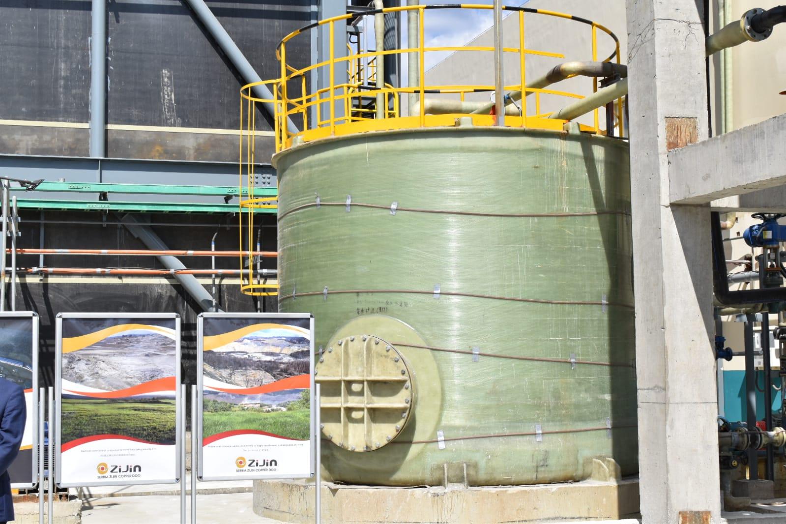 Vujović u Boru: Ulaganje Ziđina u modernizaciju postrojenja važno za životnu sredinu
